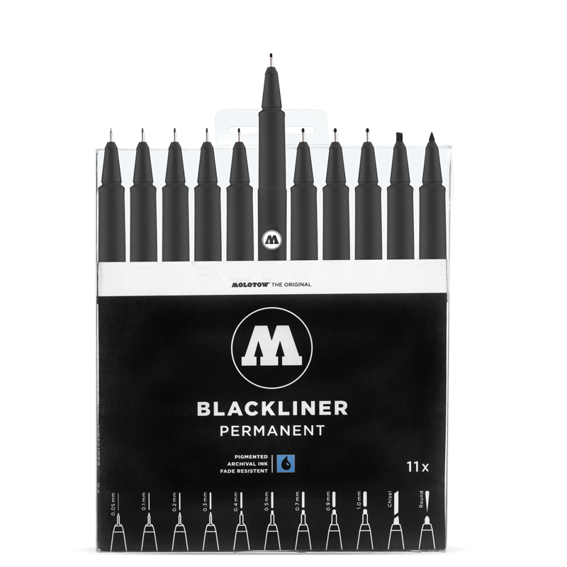 BLACKLINER Complete Set