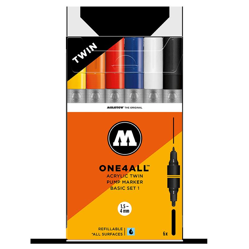 ONE4ALL™ ACRYLIC TWIN Basic-Set 1