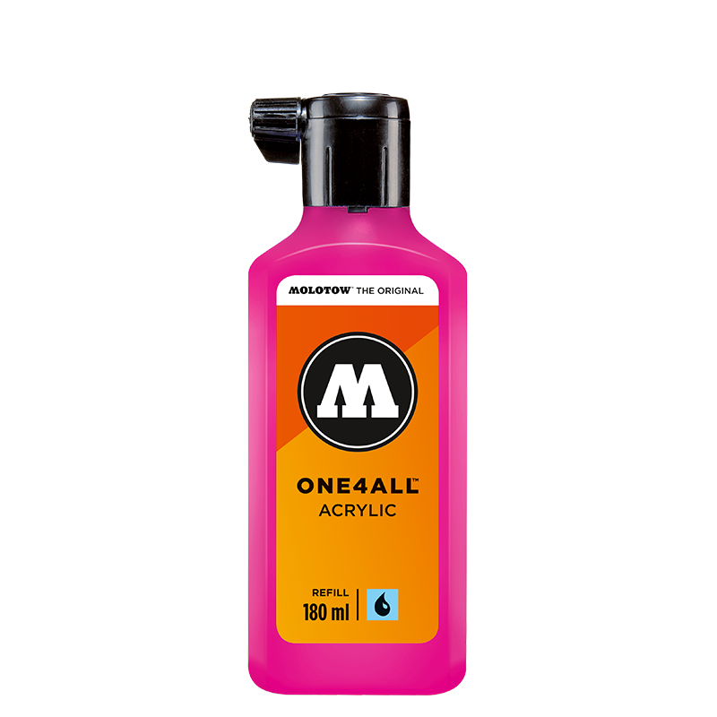 ONE4ALL™ refill 180ml neon fluorescent