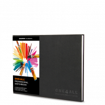 ONE4ALL™ Professional Sketchbook DIN A4 (quer)