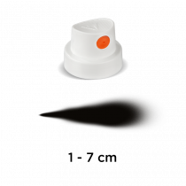 "Cap ""SilentFat"" (white/orange)"