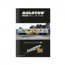 "MOLOTOW™ Train Poster #19 ""LECTRICS"""